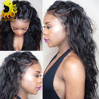 glueless lace wigs - 6A Glueless Lace Front Human Hair Wigs For Black Women Brazilian Hair Wigs Wet Wavy Beyonce Lace Front Wigs With Baby Hair