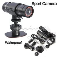 Wholesale Full HD P DV Mini Waterproof Sports Action Camera Bike Helmet Bracket Car Holder DVR Digital Video Degree