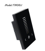 american output - Freeshipping TM06U DC12 V Channel A Output current American standard Low voltage Touch Panel LED dimmer