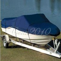 Wholesale Fishing Ski Boat Cover Heavy Duty Trailerable ft beam inch D Blue Rectangle Waterproof UV protected