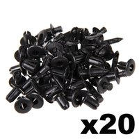 Wholesale In Stock New x for Suzuki mm Hole Black Plastic Rivet Style Body and Trim Panel Retainer Clips