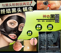 Wholesale 10PCS PILATEN Tearing style Deep Cleansing purifying peel off the Blackhead acne treatment black mud of black heads remover