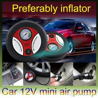 Wholesale 260PSI DC12V Tire Inflator Air Compressor Car Auto Portable Pump mini air compressor pump