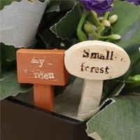 Wholesale Micro Mini Landscape Home Garden Ornaments Decoration Forest Signs DIY Craft Fairy World Decoration