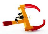 Wholesale Wheel Lock Clamp Copper Boot Tire Claw Auto Car Truck RV Boat Trailer Anti Theft Towing