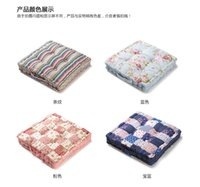 cushion fat pad - Square thick fat pads high grade cotton thickened cushion office chair cushion and backrest cushion