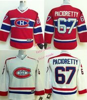 Wholesale Canadiens Michael Cammalleri Red Cheap Youth Ice Hockey Jerseys Kids Boys Stitched Jersey Size S M L XL