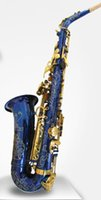 Wholesale new Alto Saxophone in flower design body with free hardcase