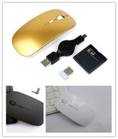 Wholesale 2 GHz Wireless Mouse Rechargeable Lithium Battery ultra thin
