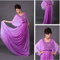 Cheap Model Pictures Vestidos De Noiva Best Scoop Chiffon evening dresses