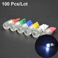 Wholesale 100Pcs Newest Universal Car Styling T10 W5W SMD DC V LED Light Source Clearance Lights Bulbs car styling High Power