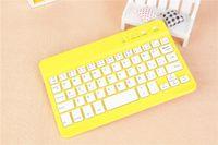 Wholesale CHpost Universal Ultra Slim Aluminum Wireless Bluetooth Keyboard For ipad mini IOS Android Windows tablet PC