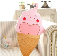 baby delicious - 2016 New Arrival Sweet Kawaii Delicious Ice Cream Pillow Plush Birthday Gift baby Toy
