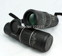 Wholesale Top Sale Monocular Telescope x52 Dual Focus Green Film Binoculo Optical Hunting High Quality Tourism Scope day night vision