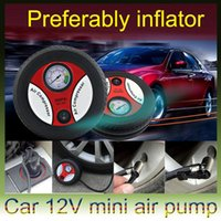 electric tire inflator - 260 PSI DC12V Mini Tyre Tire Air Inflator Air Compressor Portable Electric Car Auto Air Pump