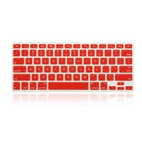 Wholesale Colorful soft Silicone Keyboard Protector Cover Skin for Apple Macbook Pro retina Air inch US Version