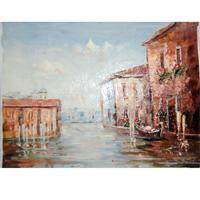 contemporary oil paintings - Shore art New Hand painted Canvas Painting The family Decorates a Wall Of Contemporary Art x27cm Mediterranean Scenery