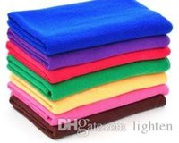 Wholesale 500pcs CM Microfiber car cleaning cloth wash towel products dust tools car washer auto supplies car accessories