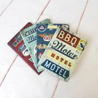 Wholesale 24808 Korea stationery new American blue fruit logo k car line notebook