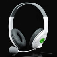 Wholesale USB Connector Headset Headphone w Microphone Volume Control White cm Cable
