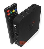 Wholesale Kodi14 Amlogic S805 MXQ TV BOX Quad Core Android Kitkat K GB GB XBMC13 WIFI Airplay Miracast