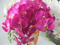 Wholesale New Natural Phalaenopsis artificial flowers Wedding Party Home Decoration Colors Available