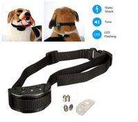 bark shock collar - Anti Bark No Barking Remote Electric Shock Vibration Dog Pet Training Collar LIF_927
