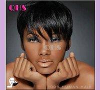black women wigs - 2015 hot sale Full Lace Human Hair none lace Wigs Short Glueless Bob Brazilian hair Wig Short Lace Front Wigs For Black Women