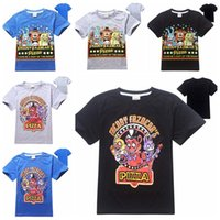 Cheap can choose size Five Nights at Freddy's FNAF Children TShirts Kids Summer Short Sleeved Boy T-shirts Five Nights At Freddys Boys Clothing