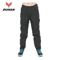 Wholesale DUHAN Men s Oxford cloth fabric Motorcycle Windproof Racing Pantalon Moto Trousers Sports Riding pants Pants Clothing BK