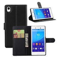 aqua credit card - High Quality Wallet Flip PU Leather Case Stand Credit Card Slot Money Purse for Sony Xperia M4 AQUA