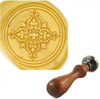 Wholesale Vintage Decorative Filigree Custom Picture Wedding Invitation Wax Seal Stamp Set