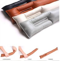 Wholesale Car Seat Gap Filler PU Leather Auto Seats Leak Stop Pad Soft Padding Spacer Holster