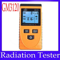 Wholesale Radiation Testers Digital Electromagnetic radiation detector GM3120