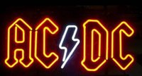 ac dc commercial - New AC DC Neon Beer Sign Light Bar Sign Real Glass Neon Light Beer Sign quot X14 quot