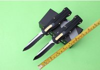 benches designs - New Design Bench made BM Pagan D E pocket Knife Single edge Black Finished good action camping knife knives with nylon sheath