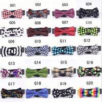 Wholesale New Mens women Bowtie Tie high end print Wedding Bow Tie silk tie necktie silk jacquard woven tie
