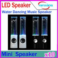 Cheap Third generation Colorful Diamond Water Dancing Speaker Enhanced Quality Led Dancing Water Music Speaker 10PCS ZY-YX-4