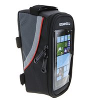 Wholesale cheap sale inch Colors Waterproof Outdoor Cycling Mountain Road MTB Bike Bicycle bag Frame Front Tube Bag for Cell Phone PVC
