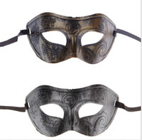Wholesale 30PCS Sexy mask Bronze mask Masquerade Masks Party Mask Venetian Mask Women Lady Sexy Masks Mardi Gras Venetian Dance lace mask BFH320