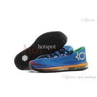 Cheap Wholesale Famous Player Swingman Kevin Durant KD VI 6 Basketball Shoes Mens Athletic Shoes Elite Men's Athletic Boots Ball Training Foo