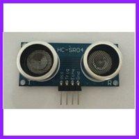 venda por atacado ultrasonic sensor-5pcs / lot HC-SR04P Ultrasonic Ranging Módulo Variando de desempenho a nível de tensão Sensor Módulo 3-5.5V é mais forte