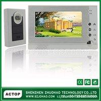 Wholesale Electronic video intercom doorbell inch color video intercom doorbell electronic doorbell electronic cat Zhuo Hao