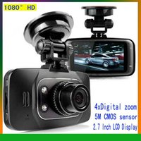 video camera hdmi - 2014 Hot Sale HD P Car DVR Vehicle Camera Video Recorder Dash Cam G sensor HDMI GS8000L