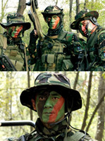 Wholesale 2015 summer style fashion Football Rugby Supporter Sport Fans Camouflage Face Paint Stick Makeu Colors