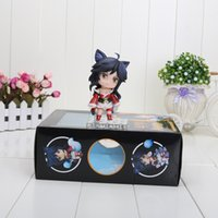 411 - 10cm Anime Nendoroid Ahri PVC Action Figure Collectible Toy doll with box