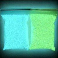 Wholesale luminous glow sand super bright Noctilucent powder sand clock colors glow in dark for wishing bottle glow in dark
