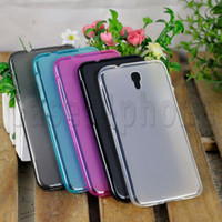 Wholesale For Alcatel One Touch Idol OT K B Y Phone Cases Covers Protective Soft TPU Gel Case High Quality