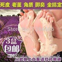 Wholesale 5pairs pcsFeet care exfoliating foot mask foot peeling Cactus extract socks for pedicure OEM cuticle remover A3