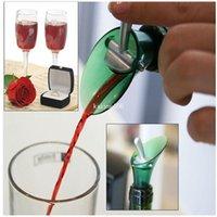 Wholesale Red Wine Aerator Bottle Plug Cap Pour Pourer Silicone Shutoff Seal Stopper